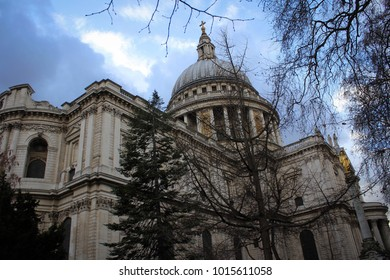 Saint Paul Cathedral view in London, England