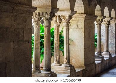 Saint Paul De Mausole monastery at Saint Remy de Provence. The hospital where Vincent Van Gogh stayed.