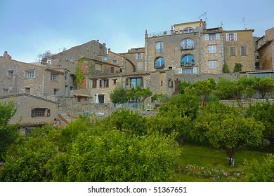 Saint Paul, village in the south of France