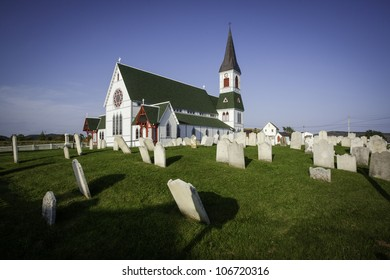Saint Paul's Anglican Church and Cemetery in Trinity, Newfoundland