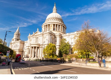 Saint Paul's Cathedral, London, England. United Kingdom, Europe.