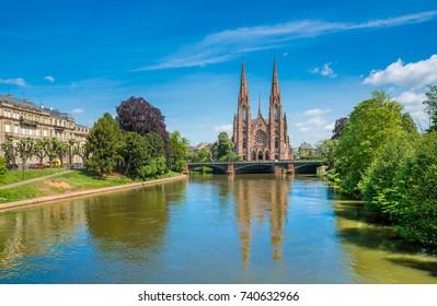 Saint Paul's Church in Strasbourg, Alsace