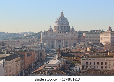 Saint Peter Basilica in Rome, Italy