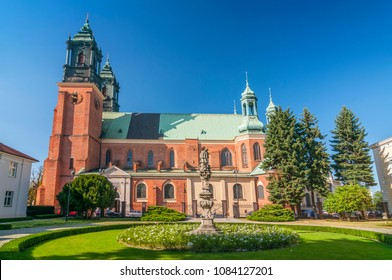 Saint Peter and Paul Archicathedral Basilica on Ostrow Tumski island in Poznan, Poland.