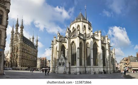 Saint Peter's church in Leuven, Flanders, Belgium