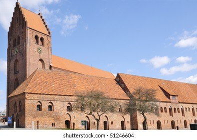 Saint Peters church in Naetsved Denmark is founded in the 11 th century by King Valdemar Atterdag as part of a Convent.