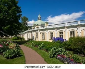 Saint Petersburg, Russia - July 21 2017. Grand Menshikov Palace.