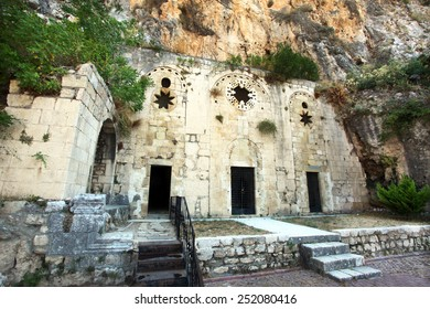 Saint Pierre Church in Antakya (Hatay) Turkey. This cave, which was used by by the very first disciples called Christians, is one of Christianity's oldest churches.