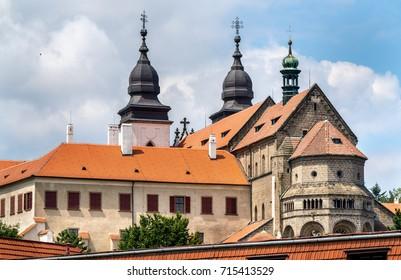 Saint Procopius Basilica in Trebic - Vysocina, Czech Republic