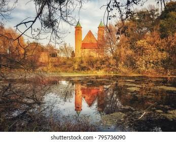 Saint Roch church in Brochow village, Poland