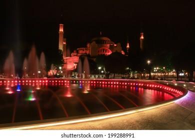 Saint Sophia Cathedral Istanbul of Turkey