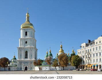 Saint Sophia Cathedral in Kiev is an outstanding architectural monument of Kievan Rus.