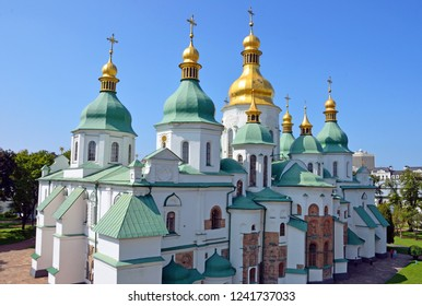 Saint Sophia's Cathedral in Kiev, Ukraine