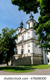 Saint Stanislaus Church at Ska?ka in Krakow, Poland.