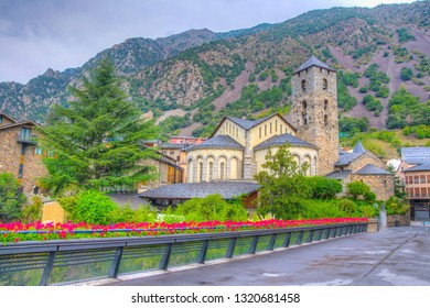 Saint Stephen church in Andorra la Vella