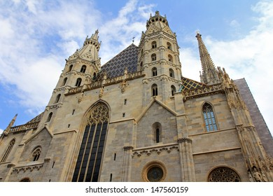 Saint Stephen's Cathedral, also called Stephansdom church. One of popular tourist attractions in Vienna, Austria