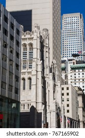 Saint Thomas Church Fifth Avenue. NYC. USA