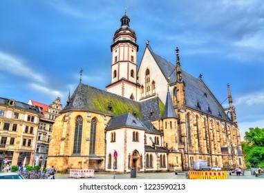 Saint Thomas Church in Leipzig - Saxony, Germany