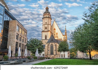 Saint Thomas Church in Leipzig, Saxony, Germany