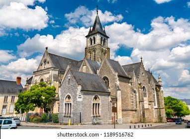 Saint Trinity Cathedral of Laval - Pays de la Loire, France