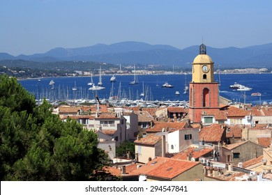 Saint Tropez, France: view from the hill
