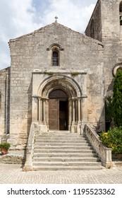 Saint Vincent Church, Medieval village of Les Baux de Provence, Bouches du Rhone, Provence , France
