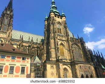 The Saint Vitus Cathedral in Prague