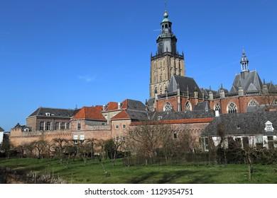 The Saint Walburgiskerk church in Zutphen, The Netherlands