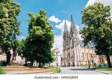 Saint Wenceslas Cathedral Olomouc in Czech Republic