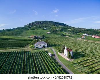 Saint-Anna Chapel and Badacsony Balaton