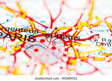 Saint Denis France Map.Saint Denis Map Images Stock Photos Vectors Shutterstock