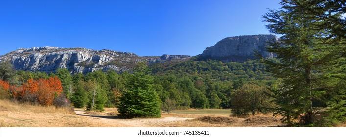 Sainte Baume, Var, France. HDR. - Shutterstock ID 745135411
