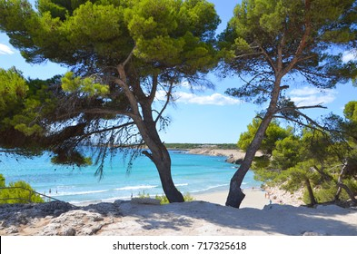 Sainte Croix beach in the south of France