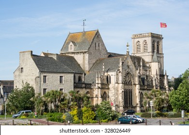 Sainte Trinite (Saint Trinity) Basilica in Cherbourg, Normandy, France