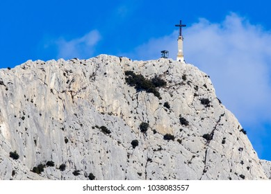 the Sainte Victoire mountain, in Provence