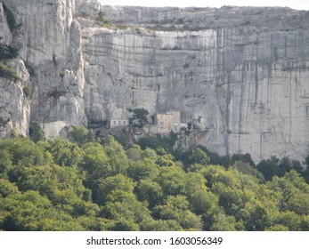 The Sainte-Baume sanctuary, also known as the Sainte-Marie-Madeleine cave, is a sanctuary erected within a cave in the Sainte-Baume massif - Shutterstock ID 1603056349