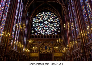Sainte-Chapelle (Holy Chapel) in Paris