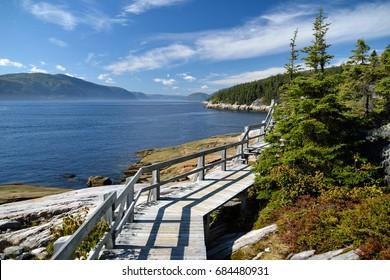Sainte-Marguerite bay, Quebec (Canada)