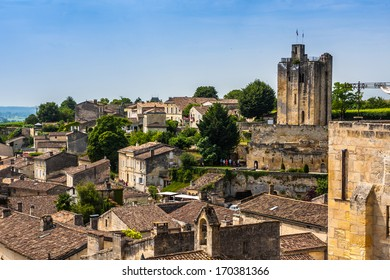 Saint-Emilion - one of the main red wine production areas of Bordeaux region. The town is a UNESCO World Heritage site.
