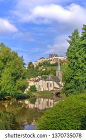 Saint-Flour city, Cantal, Auvergne, France, Europe
