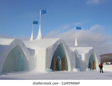 Saint-Gabriel-de-Valcartier / Quebec / Canada 01-2018 The 2018 Ice Hotel was a true work of art.