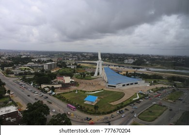 Saint-Paul cathdral of abidjan in ivory coast