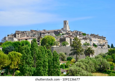 Saint-Paul-de-Vence in Provence-Alpes-Côte d'Azur in France
