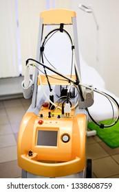 Saint-Petersburg, Russia April 4 2018: Lipomassage LPG machine. LPG massage in the beauty center. Anti-cellulite massage. LPG Lipomassage