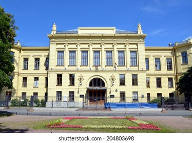 SAINT-PETERSBURG, RUSSIA, JULY 13, 2014: The D. O. Ott Research Institute of Obstetrics and Gynecology, Russian Academy of Medical Sciences in Saint-Petersburg, Russia
