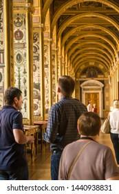 Saint-Petersburg / Russia - june 28 2019: The State Hermitage Museum