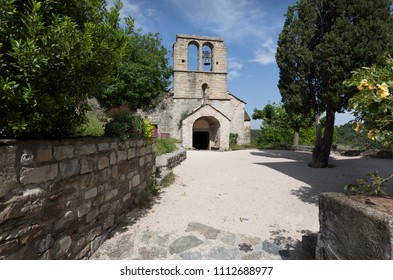 Saint-Pierre des Naves church in Naves, France