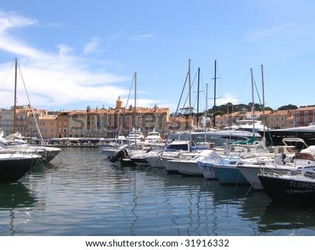 Saint Tropez Port France Stock Photo Edit Now 31916332 Shutterstock