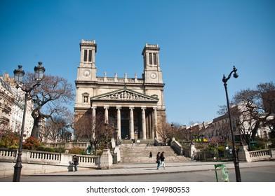 Saint-Vincent de Paul church n Paris