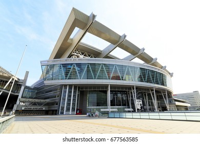 Saitama, Japan - June 11, 2017: Saitama Super Arena: Saitama Super Arena is a multi-purpose indoor stadium located in Saitama City. It is the second largest indoor arena in the world.